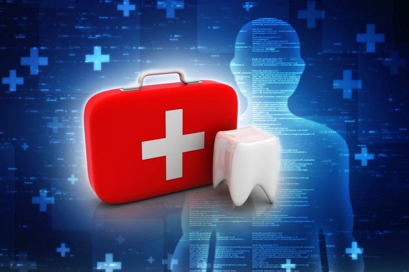 Emergency dental kit